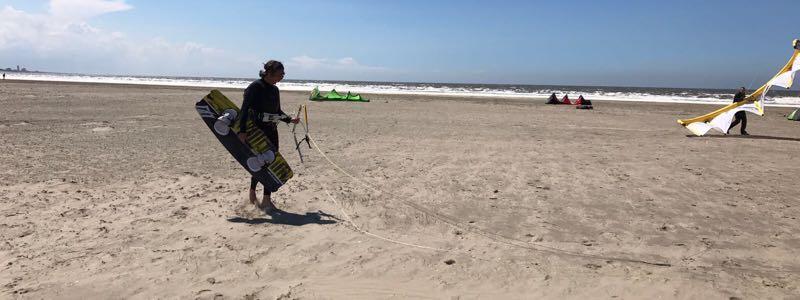 Kitesurfing spots in North Holland - 35 KNOTS