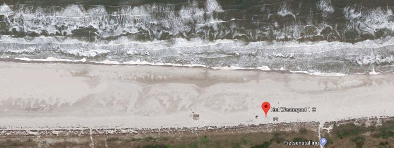 Kitespot Ameland-noordzee