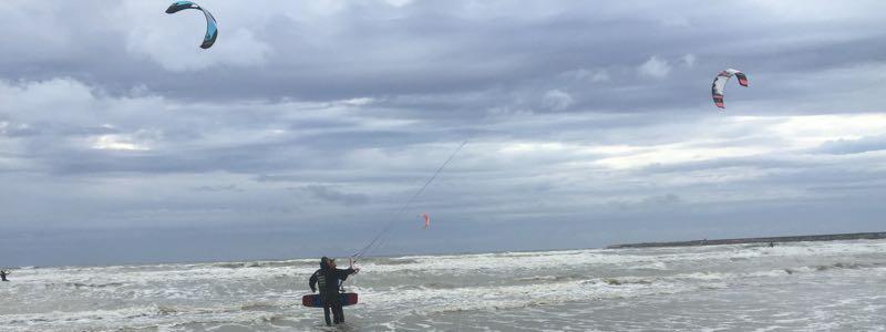 Kitesurfspot IJmuiden