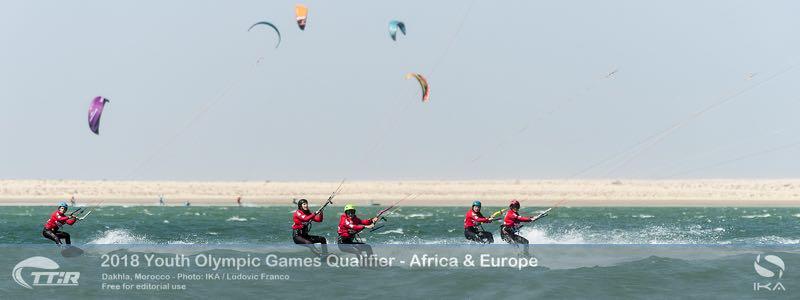 Junior olympische spelen kitesurfen
