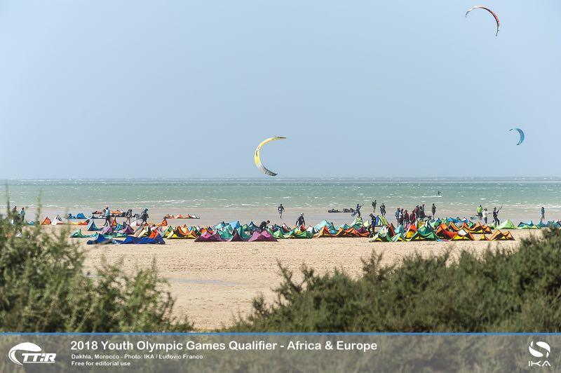 Junior Olympische Spelen in Dakhla