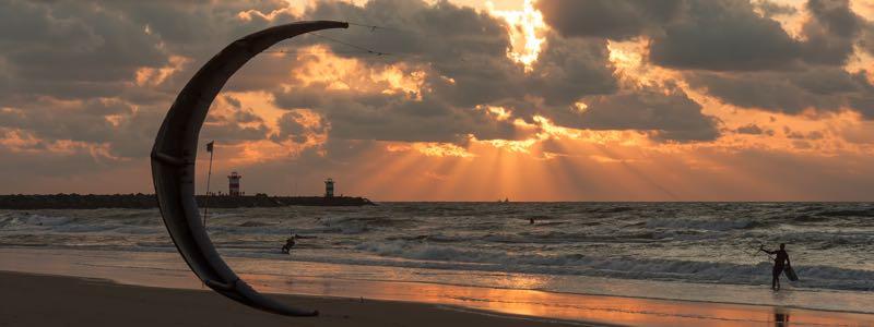 Kitesurf vakantie in Nederland