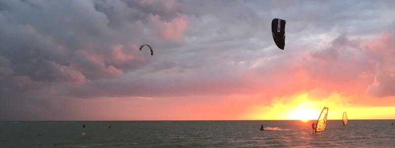 Kitesurfspot Workum Nederland