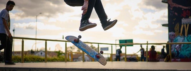 Dark Slide bij skateboarden
