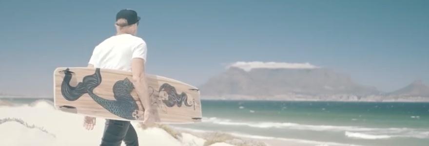 Oceana kiteboard by Lieuwe en Reb Lenten