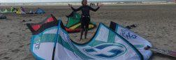 Basis kitesurf uitrusting