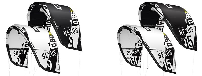 Core Nexus wave en freestyle kite