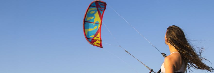 Kite oplaten
