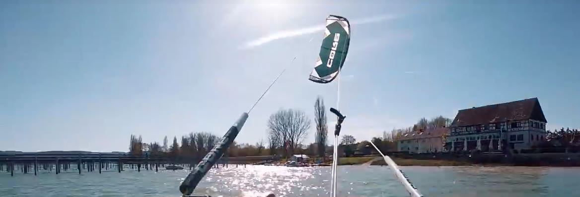 Kitesurfing spot Cadzand - 35 KNOTS
