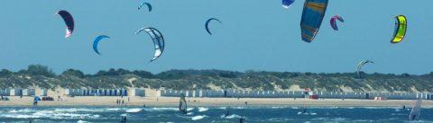 Kitesurfing spot IJmuiden Zuidpier (South pier) - 35 KNOTS