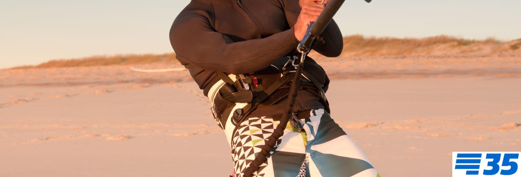 Kitesurf trapeze kopen?  Welke model kitesurf harnas wordt het?