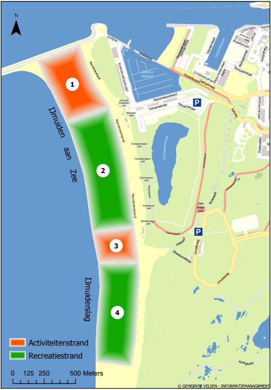 Kitesurfing spot IJmuiderslag - 35 KNOTS