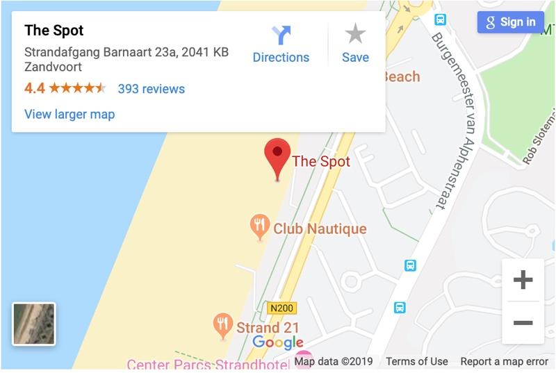 Megaloop 2019 The spot zandvoort locatie