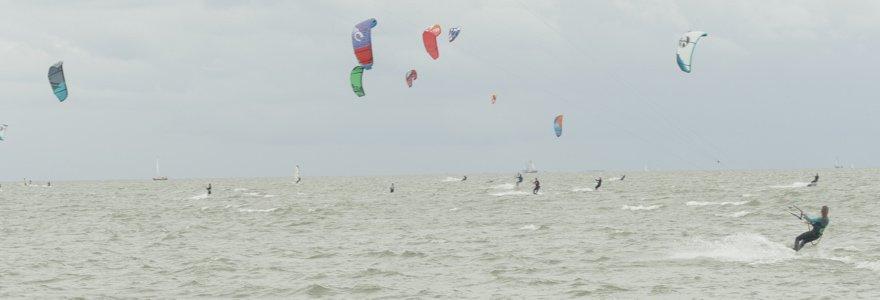 Kitespots in Nordholland - 35 KNOTS