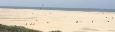 Kitesurfspot Texel vuurtoren
