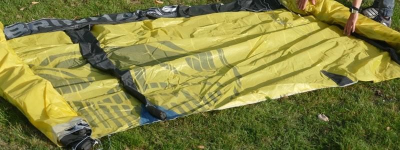 knisperende kite nieuw uit tas