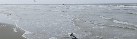 Kitesurfing spot Lauwersoog - 35 KNOTS