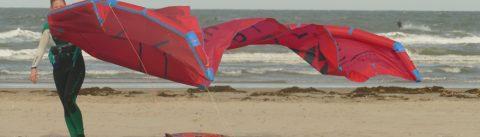 Kitesurfspot Lauwersoog waddenzee