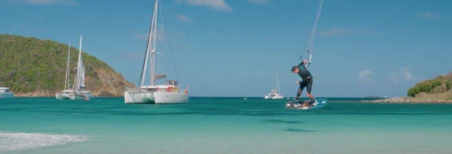Pleasure bay kitesurfing - 35 KNOTS
