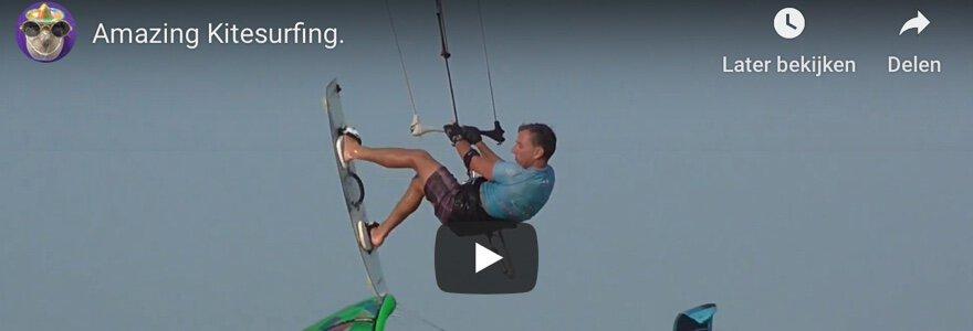 amazing kitesurfing