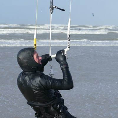 kitesurfen in de winter