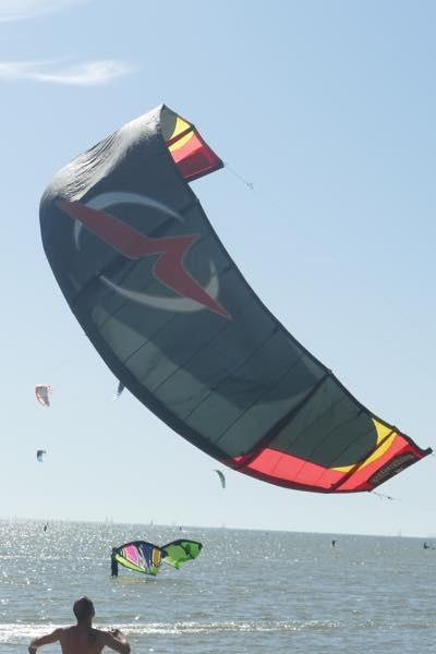 windwing op het water