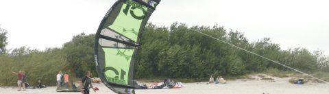 Kitesurfing spot Texel Paal 9 - 35 KNOTS