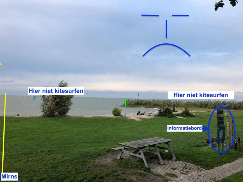 Kitesurfspot Mirns