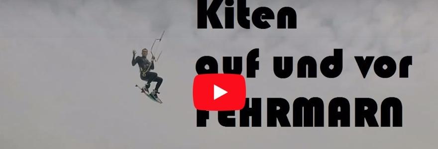 Kitesurfen bij Fehmarn
