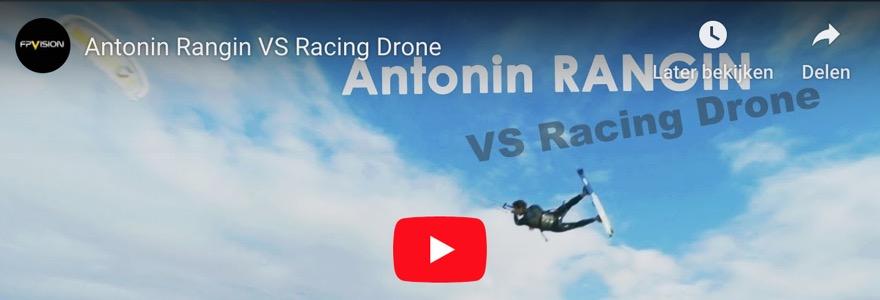 Racen tegen een drone