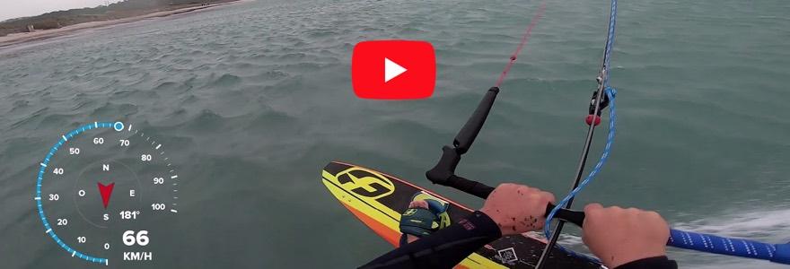 racen met je kite