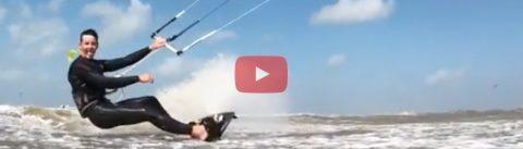 Storm bij Wijk aan Zee