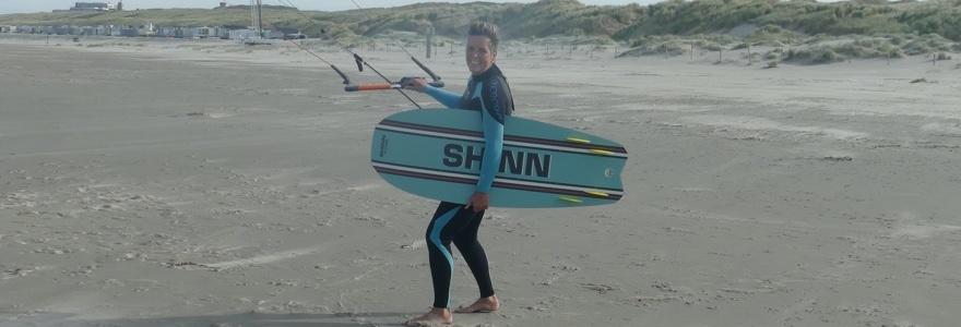 Kitesurf interview Marion van Os