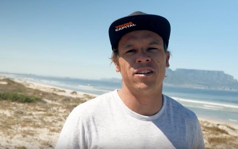 Kevin Langeree start zijn eigen kitesurfmerk