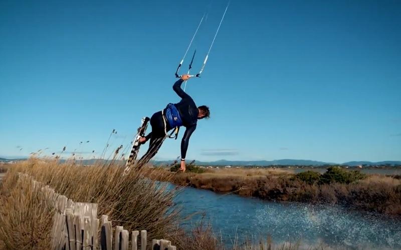 Kiteboarding is fun