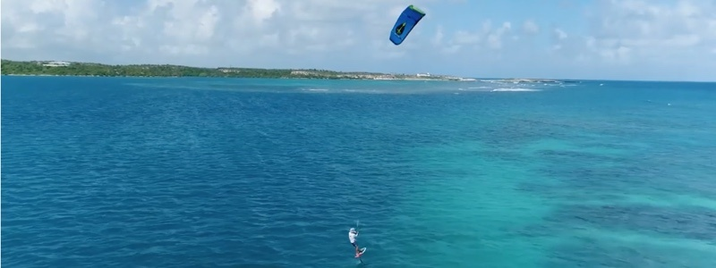 kitesurf trip 130km antigua