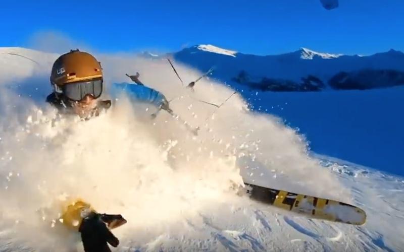 Snow kiting the movie