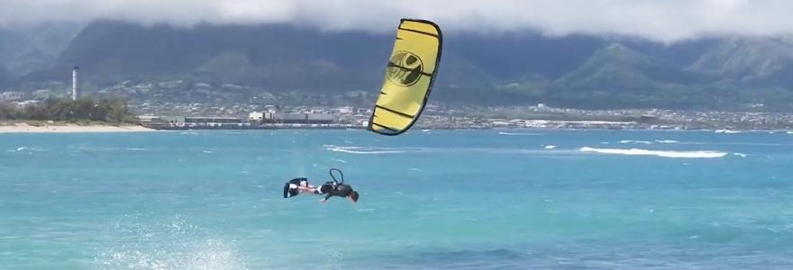 wat betekent kiteboarding voor Peter Cabrinha