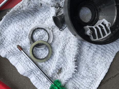 kite oppompen en onderhoud