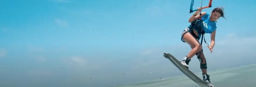 Zanzibar Naish kiteboarding avontuur