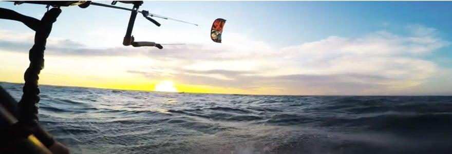 De liefde voor kitesurfen