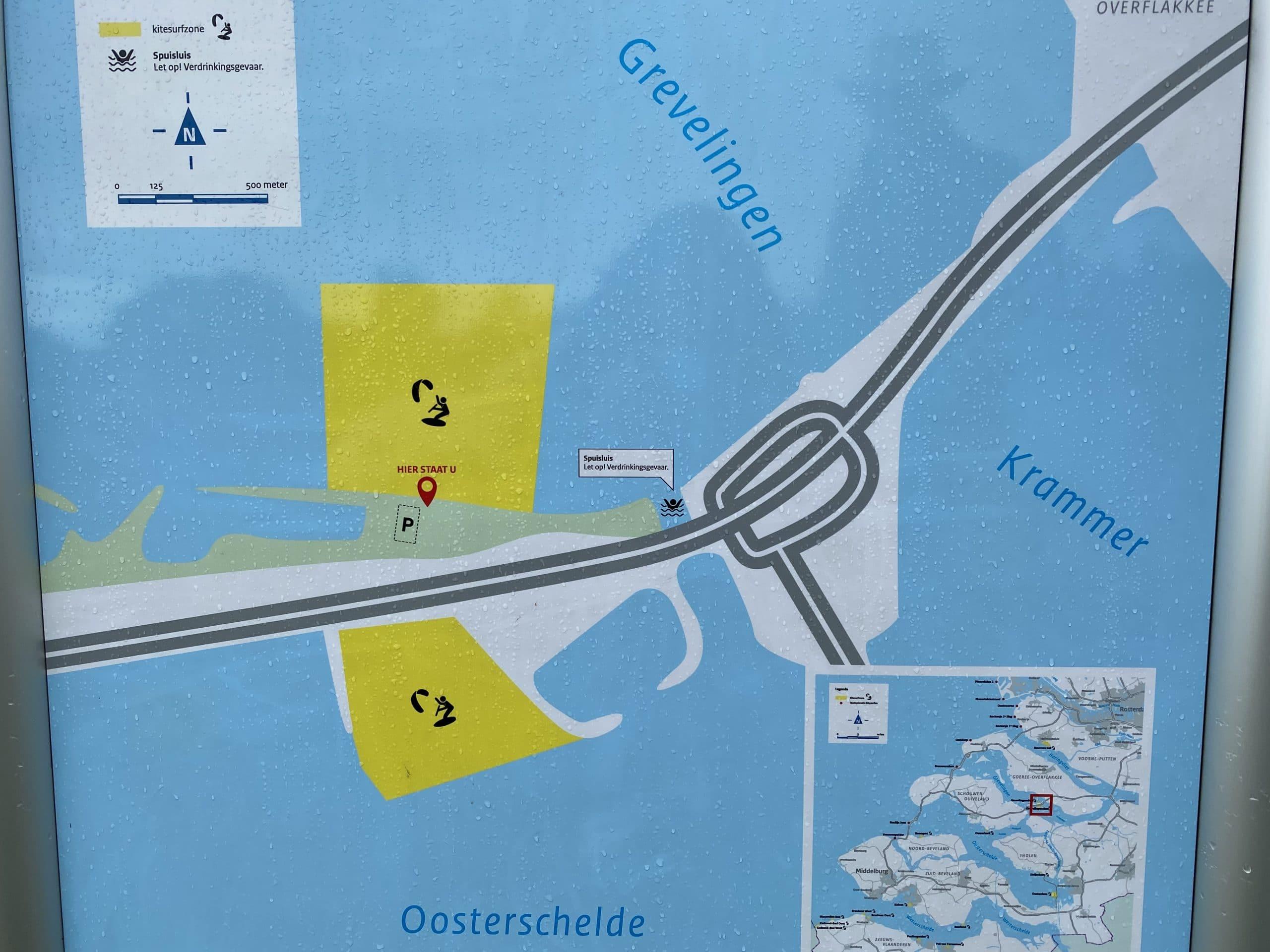kitesurfspots Grevelingendam