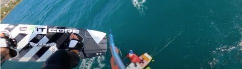 Jump over Wingfoiler met Ben Beholz