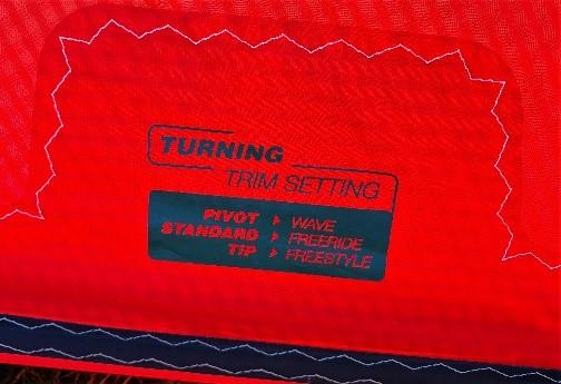 Eleveight RS v5 kite trim settings