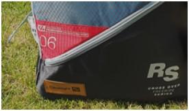 Opbergtas eleveight RS v5 - kite review
