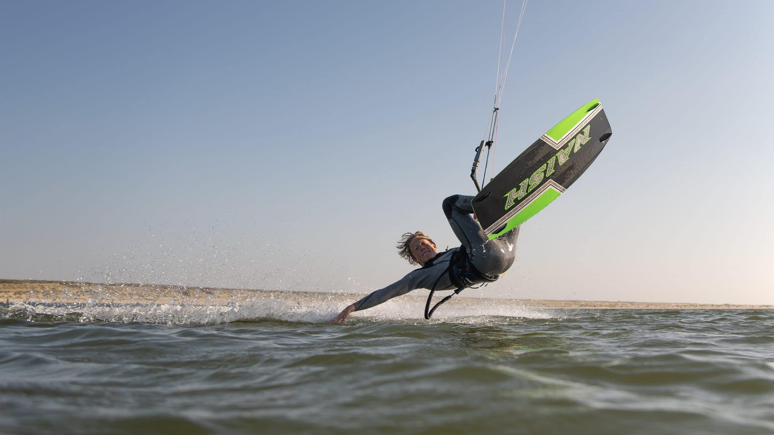 Jong kitetalent Timo Boersema - 35 KNOTS